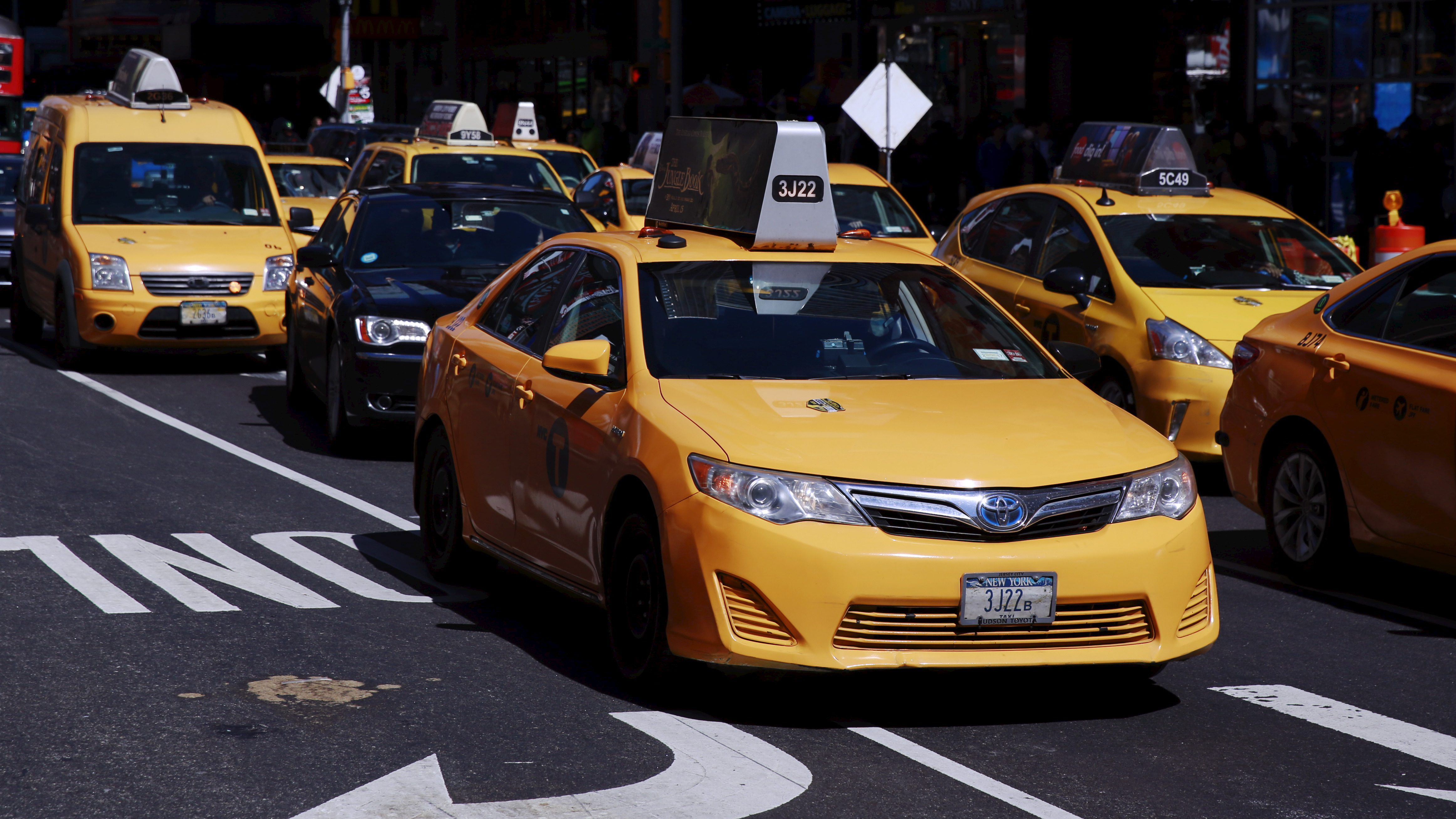 Image result for Rides than taxis did in New York in 2017
